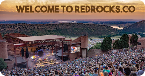 Find tickets for every Red Rocks concert now at buyTickets.com