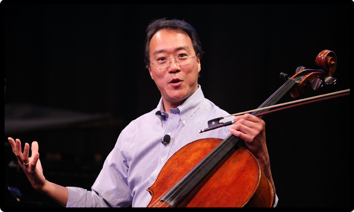 Yo-Yo Ma Live buy tickets for upcoming concert